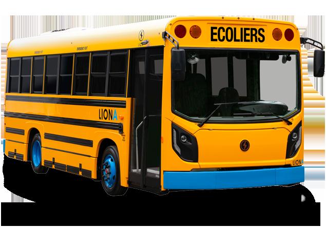 LionA - 100% electrique, Zero-Emission Bus Scolaire | Lion Electric