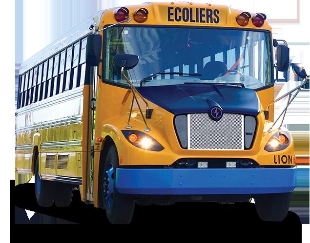LionC - 100% electrique, Zero-Emission Bus Scolaire | Lion Electric