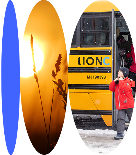 LionC in winter conditions | Lion Electric